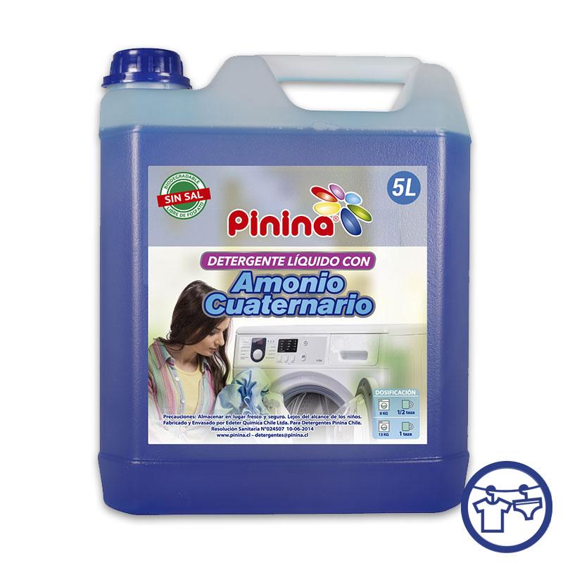 Detergente Amonio Cuaternario azul 5 Litros