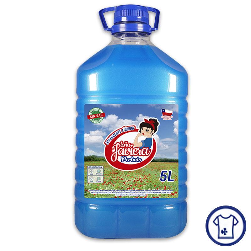 Detergente Perlado Azul 5 litros